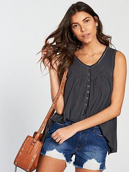 v-by-very-washed-placket-front-swing-vest