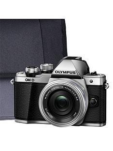 olympus-olympus-om-d-e-m10-mk-ii-silver-camera-kit-inc-14-42mm-lens-32gb-sd-and-case