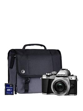 olympus-om-d-e-m10-mk-ii-silver-camera-kit-inc-14-42mm-lens-32gb-sd-and-case--nbspsave-pound30-with-voucher-code-mjxal
