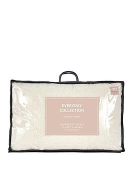 Everyday Collection Everyday Collection Super Soft Teddy Fleece Pillows  ... Picture