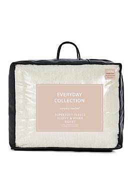 Everyday Collection Everyday Collection Super Soft Teddy Fleece 13.5 Tog  ... Picture