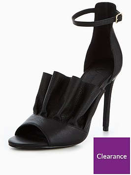v-by-very-mimi-leather-frill-heel-sandal-black
