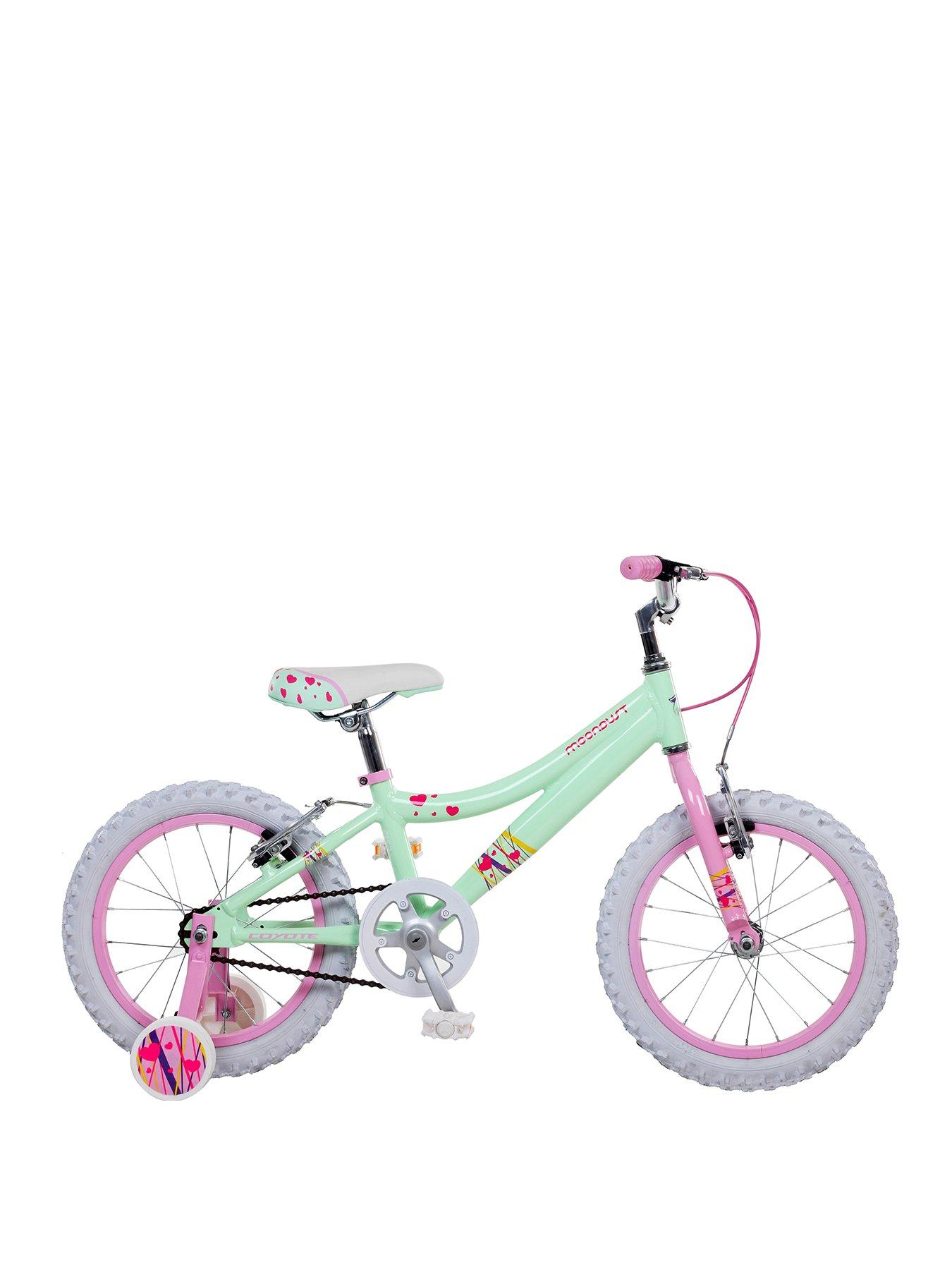 Compare prices for Coyote Moondust Alloy Girls Bike 16 inch Wheel