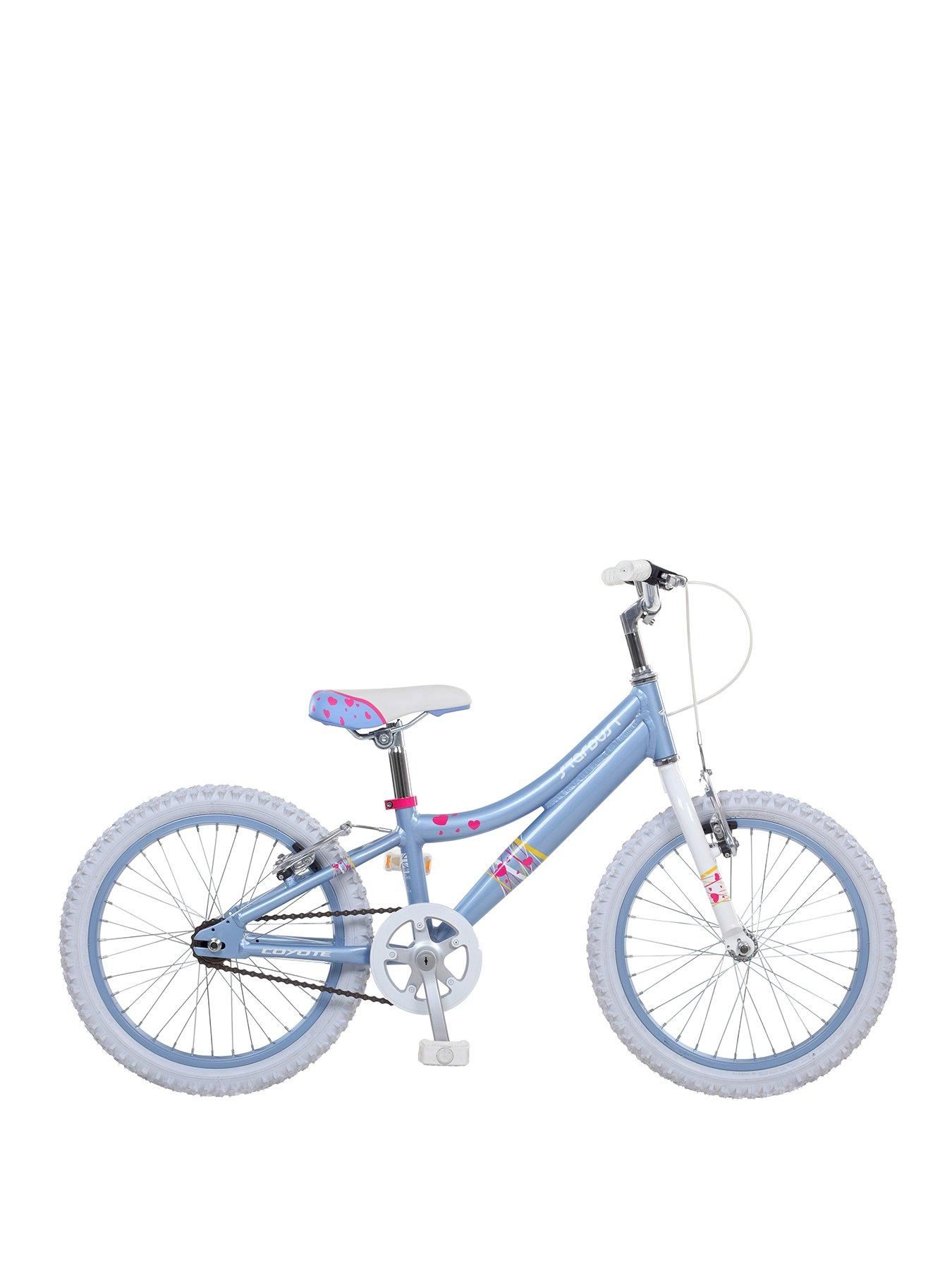 Compare prices for Coyote Stardust Alloy Girls Bikes 18 inch Wheel