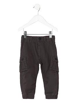 river-island-mini-boys-dark-grey-cargo-trousers