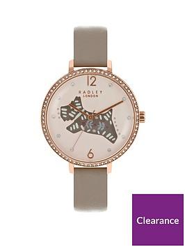 radley-radley-london-brown-folk-dog-watch-with-rose-gold-casing-ladies-watch