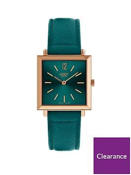 henry-london-henry-london-stratford-teal-heritage-square-ladies-strap-watch