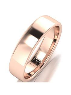 love-gold-9ct-rose-gold-premier-collection-5mm-heavy-weight-wedding-band