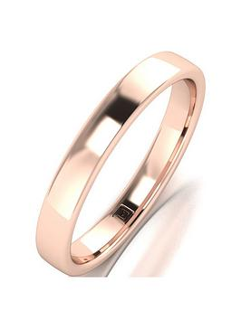 love-gold-9ct-rose-gold-premier-collection-3mm-heavy-weight-wedding-band