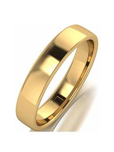 love-gold-9ct-rose-gold-premier-collection-4mm-heavy-weight-wedding-band