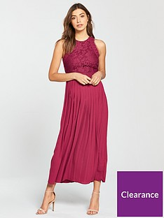 little-mistress-pleated-hem-midi-dress-berry
