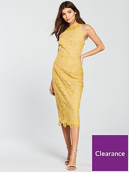 little-mistress-lace-with-crochet-trim-pencil-dress-mustard