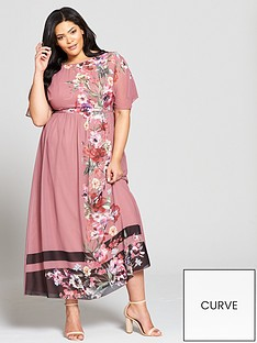 little-mistress-curve-print-maxi-dress