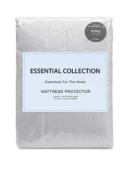 Essentials Collection Quilted Mattress Protector One Get Free Littlewoods