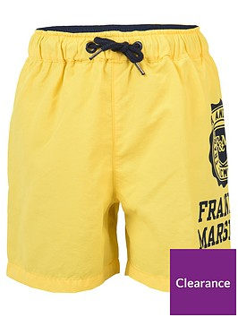franklin-marshall-boys-logo-swim-shorts