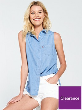 levis-levis-sleeveless-chambray-shirt