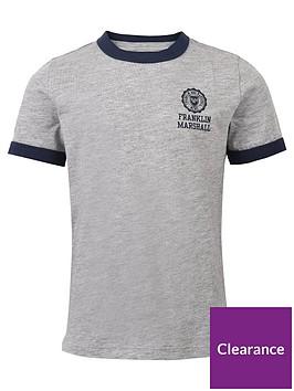 franklin-marshall-boys-retro-logo-contrast-t-shirt