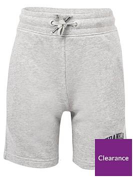 franklin-marshall-boys-badge-logo-sweat-shorts