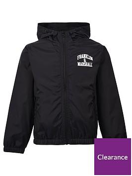 franklin-marshall-boys-badge-logo-windcheater