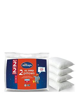 Silentnight Silentnight So Cosy Pillows - 2 + 2 Free! Picture