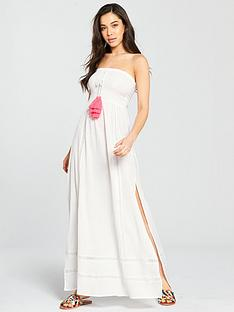 v-by-very-tassel-trim-shirred-bandeau-beach-maxi-dress-whitenbsp