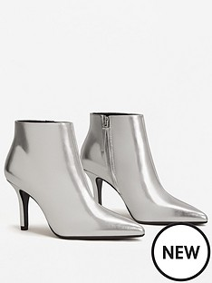mango-dark-metallic-ankle-boot