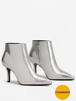 mango-dark-metallic-ankle-boot
