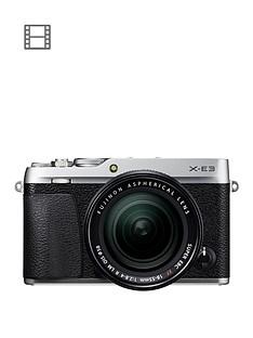 fujifilm-fujifilm-x-e3-with-xf-18-55-lens-silver