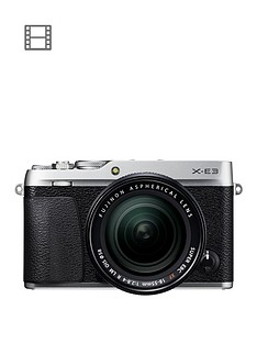 fujifilm-x-e3-camera-xf-18-55-lens-kit-243mp-30lcd-4k-silver