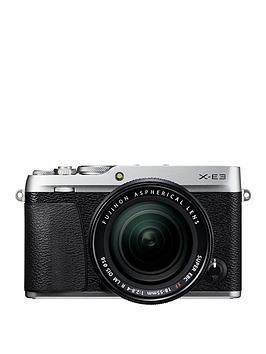 Fujifilm Fujifilm Fujifilm X-E3 With Xf 18-55 Lens (Silver) Picture