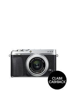 fujifilm-x-e3-camera-xf-23mm-f20-lens-kit-243mp-30lcd-4k-silver