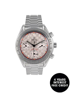 omega-omega-pre-owned-speedmaster-racing-michael-schumacher-black-dial-stainless-steel-watch-ref-351730