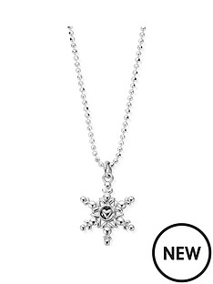 chlobo-sterling-silver-the-first-snowflake-necklace