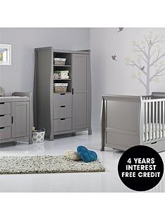 obaby-stamford-classic-sleigh-3-piece-nursery-furniture-set