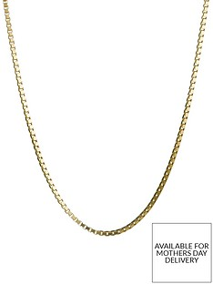love-gold-9-carat-yellow-gold-adjustable-box-chain