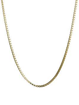 love-gold-9-carat-yellow-gold-adjustable-box-chain