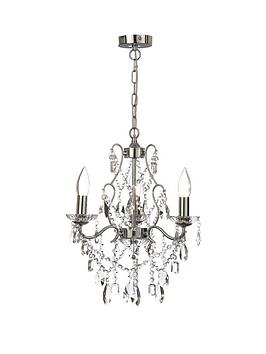 Marquis by Waterford Marquis By Waterford Annalee 3-Light Chandelier Picture