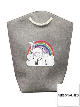 personalised-unicorn-storage-bag