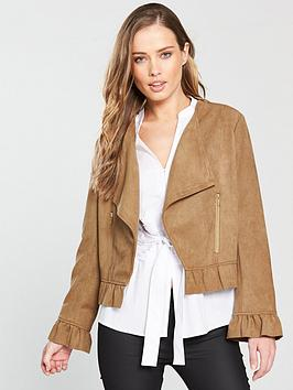 coast-giulianbspfaux-suede-jacket-tan