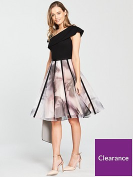 coast-maude-organza-stripe-dress
