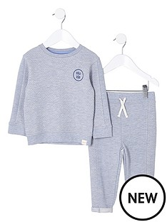 river-island-mini-boys-grey-quilted-sweatshirt-outfit