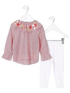 river-island-mini-girls-clown-collar-top-and-leggings-outfit