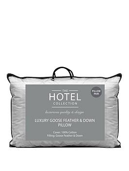 Hotel Collection Hotel Collection Luxury Goose Feather &Amp; Down Pillow  ... Picture