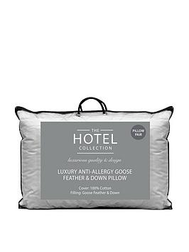 Hotel Collection Hotel Collection Luxury Anti-Allergy Goose Feather And  ... Picture