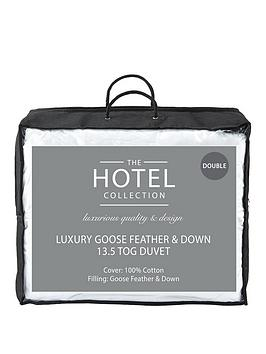 Very Luxury Goose Feather &Amp; Down 13.5 Tog Duvet Picture