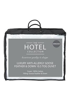 Very Luxury Anti-Allergy Goose Feather &Amp; Down 10.5 Tog Duvet Picture