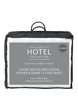 Hotel Collection Hotel Collection Luxury Anti Allergy Goose Feather &Amp;  ... Picture