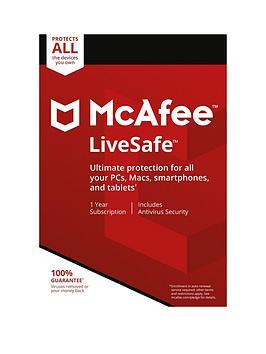 Mcafee Livesafe 2018