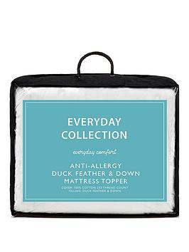everyday-collection-anti-allergy-duck-feather-amp-down-12-cm-mattress-topper