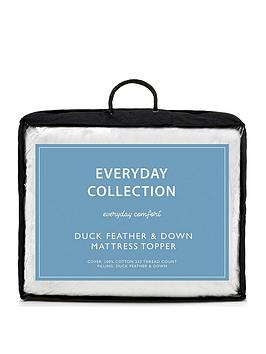 everyday-collection-duck-feather-and-down-5cm-mattress-topper